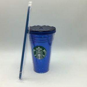 Starbucks 60th Disneyland Anniversary Blue Silver